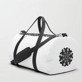 Green Velvet Duffle Bag