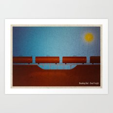 Breaking Bad - Dead Freight Art Print