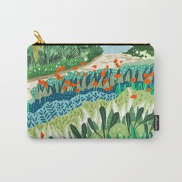 Solo Walk #illustration #nature Carry-All Pouch