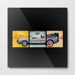 DeLorean DMC-12 - Cinema Classics Metal Print