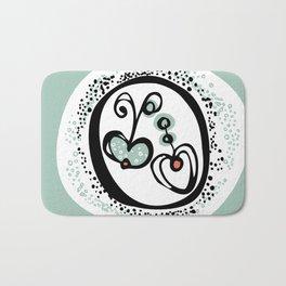 Apple Heart Bath Mat