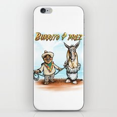 Burrito 4 Prez iPhone Skin