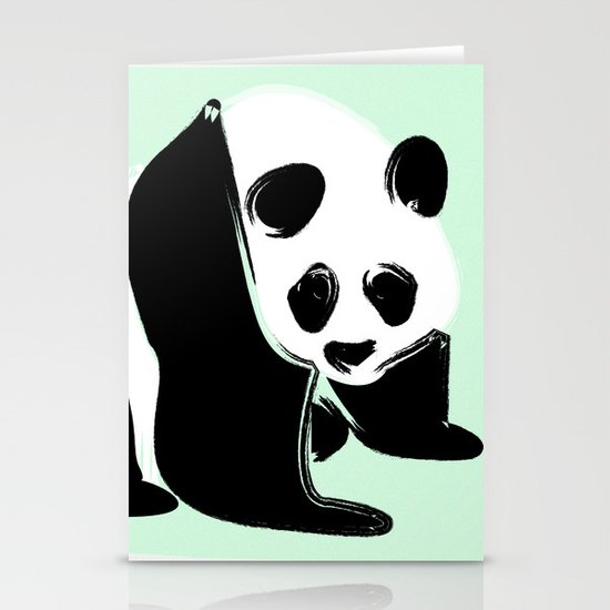 Rough Panda Stationery Cards