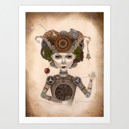 #8 Art Print