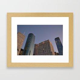 Inside Houston Framed Art Print