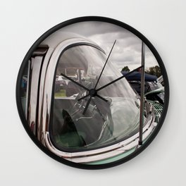 Vintage Car 3 Wall Clock