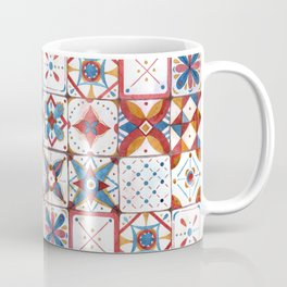 Tile pattern Coffee Mug