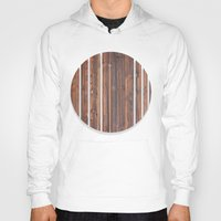 wooden Hoodies featuring wooden by Katharina Nachher