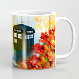 TARDIS PAINTING Coffee Mug