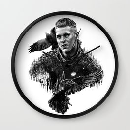 Ivar the Boneless Wall Clock