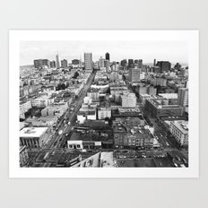 Birds Eye View Art Print