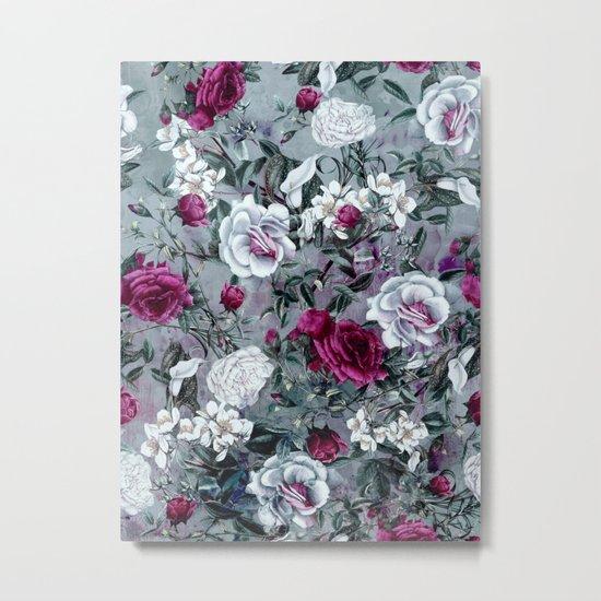 Botanical Flowers Metal Print