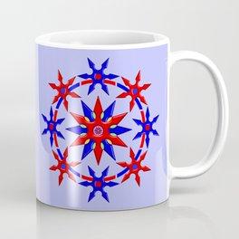 Shuriken Lotus Flower V2 Coffee Mug
