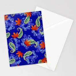 PAISLSEY ROYAL TOSS Stationery Cards