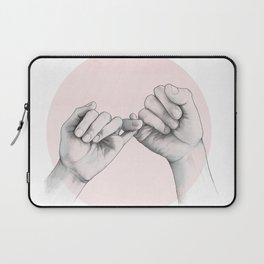 pinky swear // hand study Laptop Sleeve