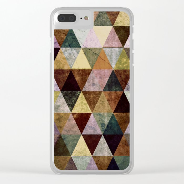 Abstract #391 Clear iPhone Case