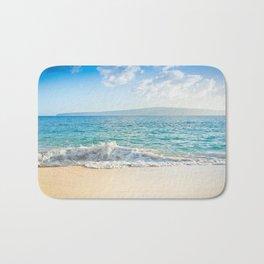 Oneloa Big Beach Makena Maui Hawaii Bath Mat
