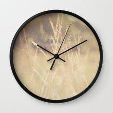 Hazy Days of Summer Wall Clock