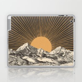 Mountainscape 6 - Night Sun Laptop & iPad Skin