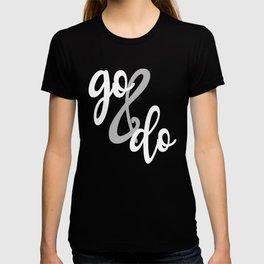Go and Do LDS Youth Theme YW YM Mutual 2020 Young Women Men T-Shirt T-shirt