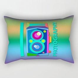 I heart Photography Rectangular Pillow