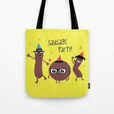 Sausage Party Tote Bag
