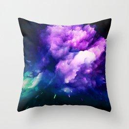 Universal Skies Throw Pillow