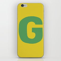 G is for... iPhone & iPod Skin