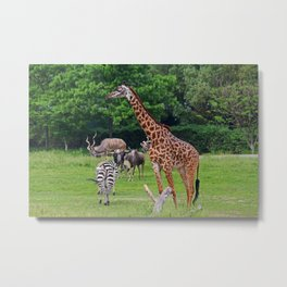 As Long As We're Together Metal Print