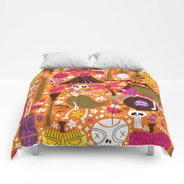 Tiki Freaks do the Hulaween Comforters