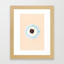 Les Mots Dits - Oréo Lait Framed Art Print