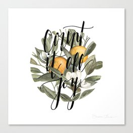 Count It All Joy Canvas Print