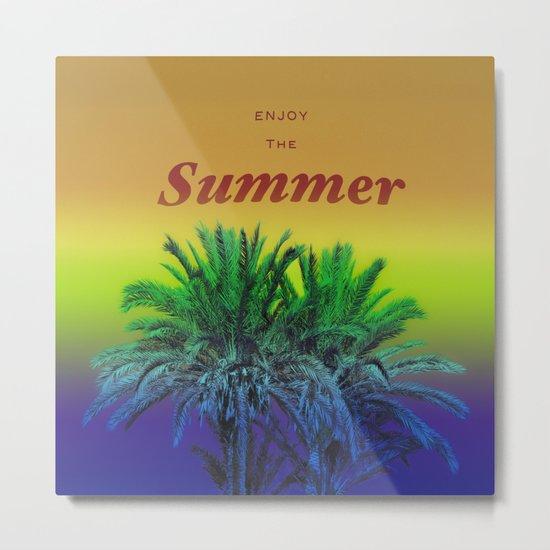 Enjoy the Summer in color Metal Print