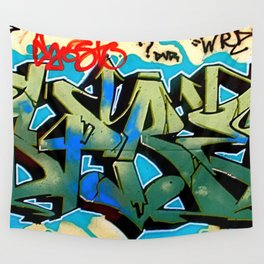 Wildstyle Tag Wall Tapestry