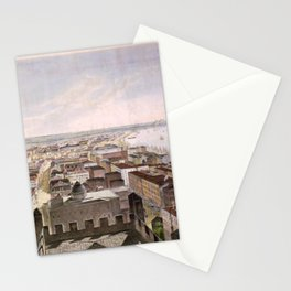 Vintage Pictorial Map of New Orleans LA (1852) Stationery Cards