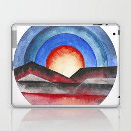 Geometric landscapes 01 Laptop & iPad Skin