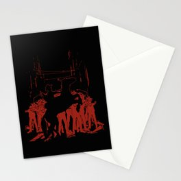 Zombie Crossing Stationery Cards