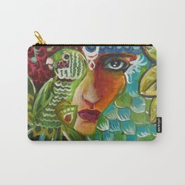 The Girl and The Bird 2 Carry-All Pouch