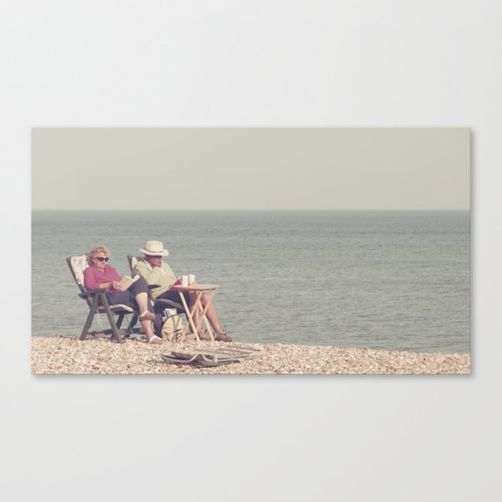 i know it's out of fashion and a trifle uncool... Canvas Print
