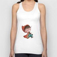 red riding hood Tank Tops featuring Red Riding Hood by Antoana Oreski Illustration