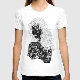 Tattooed Girl T-shirt