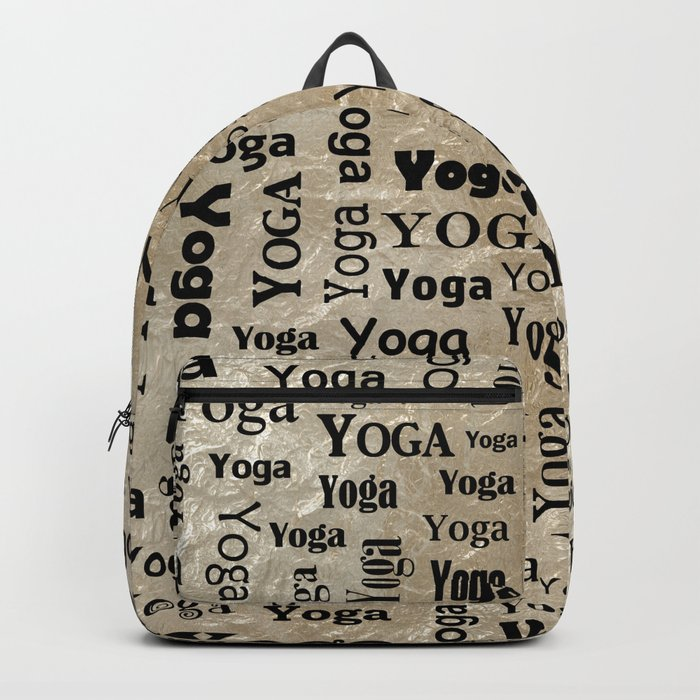 Keep Calm and Do Yoga Backpack