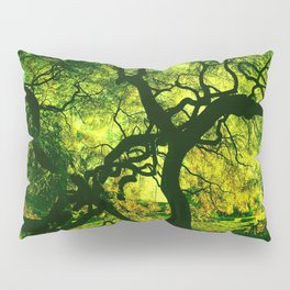 Green is the Tree Pillow Sham