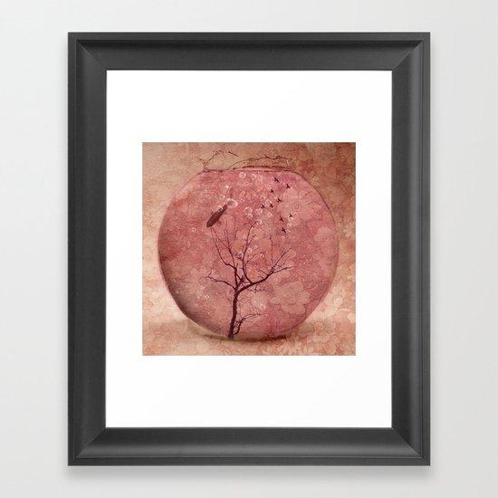 Present Framed Art Print