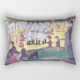 A Clockwork Sunday Rectangular Pillow