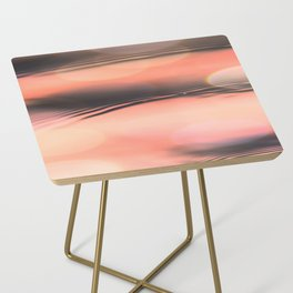 Sunset on Water Side Table