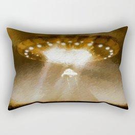 Ancient Aliens Rectangular Pillow
