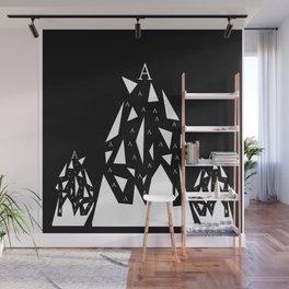Triangle A Wall Mural