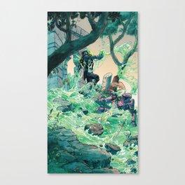 Vile Evan the Slimeophage Canvas Print
