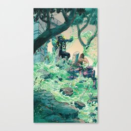 Vile Evan the Slimeophage Canvas Print